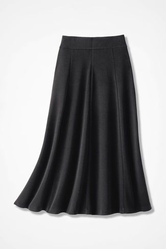35095ec5ce5 Signature Knit Crepe Skirt