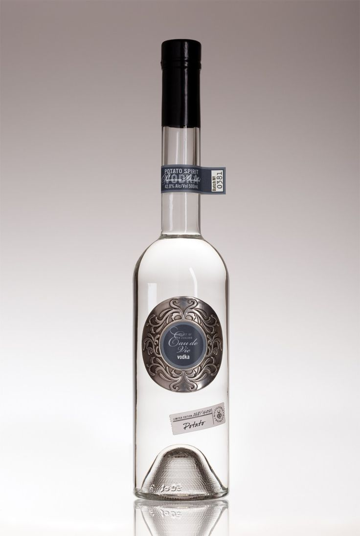 Potato Vodka - 500mL, 42% Alc/Vol - Super Premium Vodka made in New Zealand