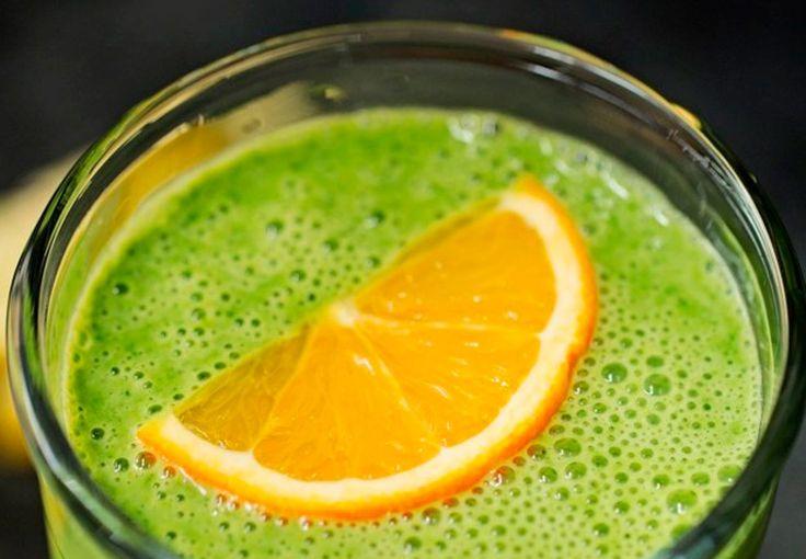 Smoothie: spinat, appelsin, gurkemeje | Boligmagasinet.dk