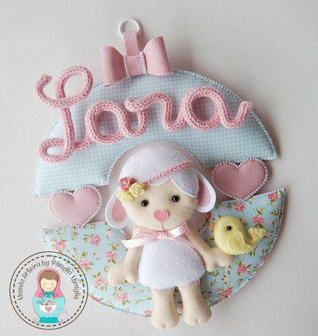 APOSTILA DIGITAL: Guirlanda Baby Ovelhinha - Mamãe Arteira