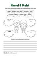 """This would be the second part of my most downloaded worksheet: """"Personality Adjectives"""". It provides other twenty-five adjectives related to personality or attitude. Key provided.Here you are the link for the first part: https://en.islcollective.com/resources/printables/worksheets_doc_docx/personality_adjectives/adjectives-to-describe/73346Speaking practice on the topic here :  https://en.islcollective.com/resources/printab..."""