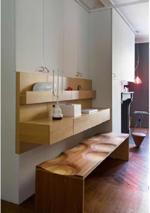 ikea hackers hacking malm nightstands in a workstation small apartment pinterest. Black Bedroom Furniture Sets. Home Design Ideas