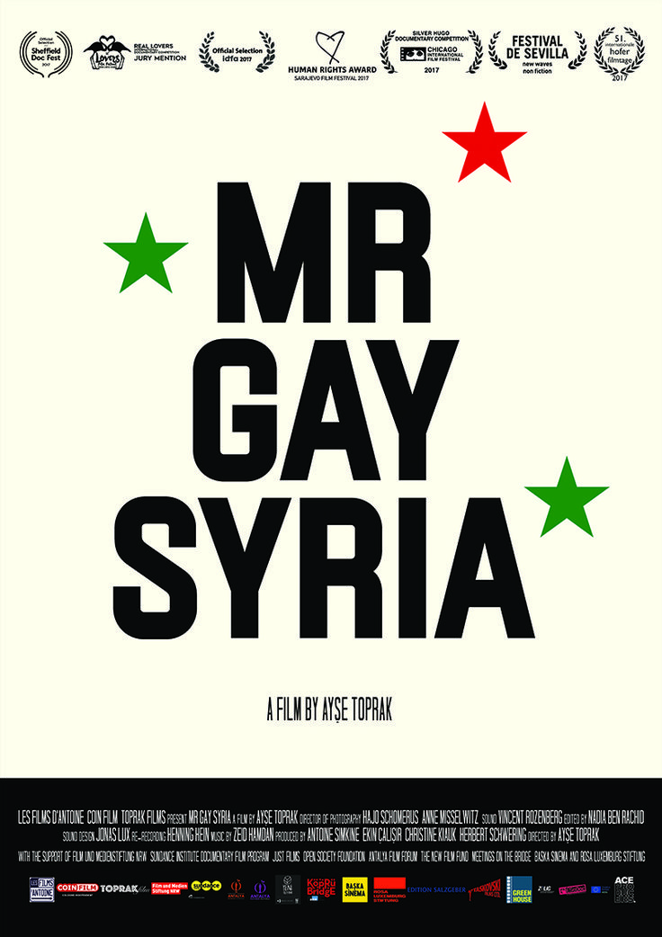 Mr Gay Syria Poster