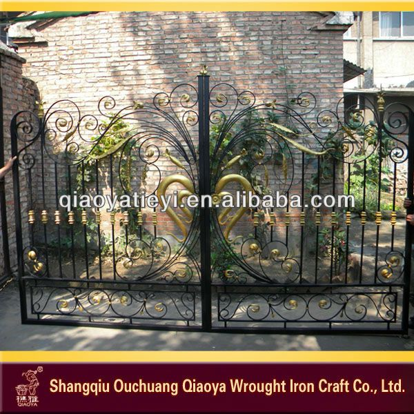 Top-selling wrought iron gate design $50~$300