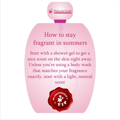 Summer Fragrances needs to be chosen wisely. Here is a tip to help you.