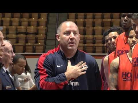 Men's Basketball Veteran's Day Recognition. More coaches and teachers sh...