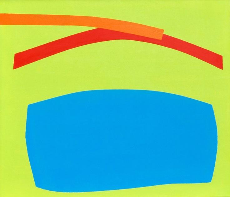 """Saltdean"" (2011) ~ 28in x 24in ~ acrylic on canvas"