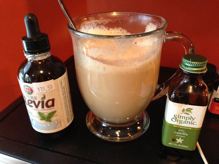 Amazing...Sugar Free Vanilla Simple Syrup Recipe! …for Vanilla Lattes