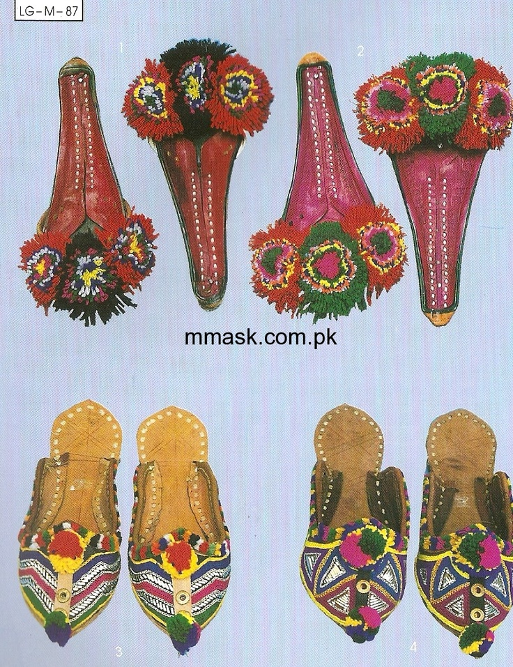 Sindhi Traditional Slipper