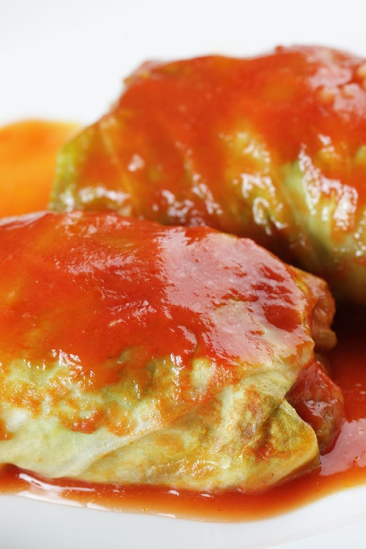 Ground Beef Stuffed Cabbage Rolls.. Lance's grandma Ohio makes these and I absolutely love them! (: