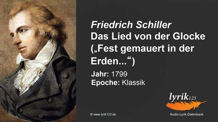 Friedrich Schiller: Das Lied von der Glocke. (1799)