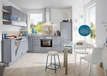 Küche hellgrau - Möbel Mit www.moebelmit.de