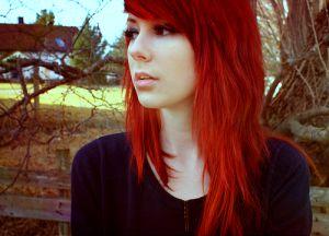 como fazer decapagem para cabelos vermelhos