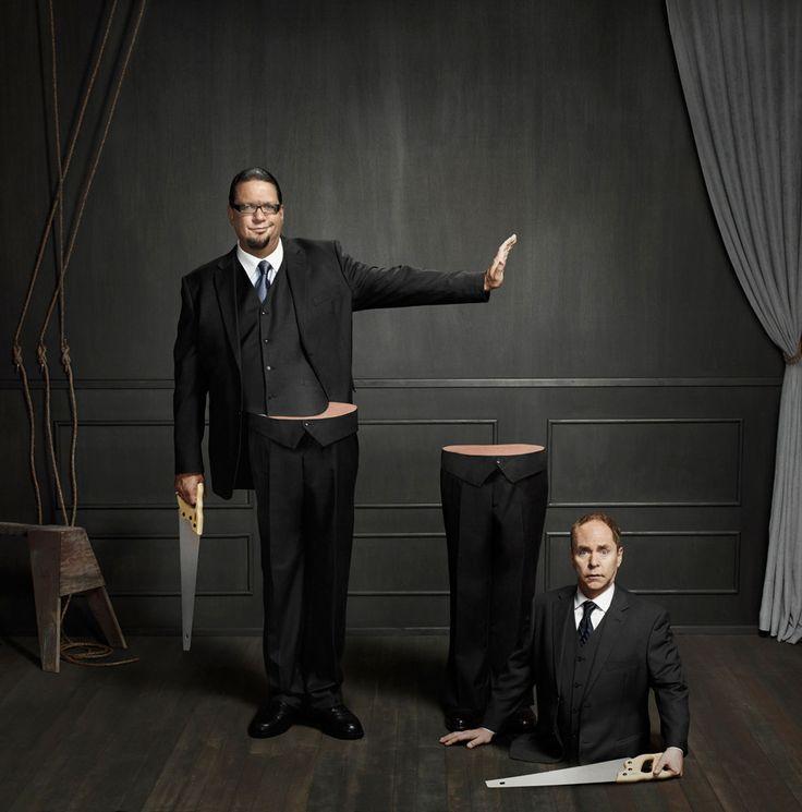 Penn & Teller - magicians