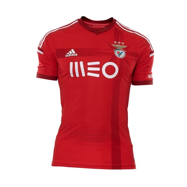 This season's Portuguese Primeira Liga champions SL Benfica unveiled their 2014/15 adidas home kit on Sunday before their Taça de Portugal (Portuguese Cup) Final meeting with Rio Ave.