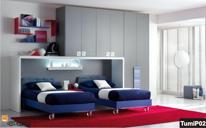 camera doppia | Camerette, Arredamento camera da letto ...