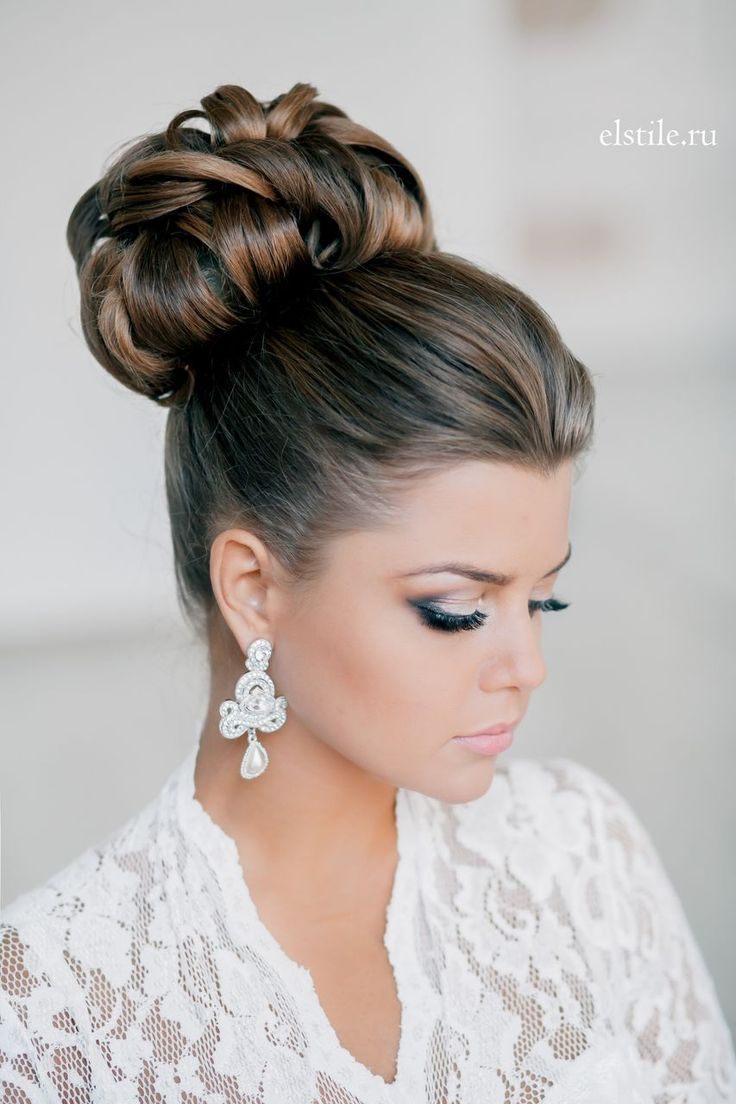 146 best bridal updos buns and bouffants images on pinterest 30 top knot bun wedding hairstyles that will inspirewith tutorial pmusecretfo Images