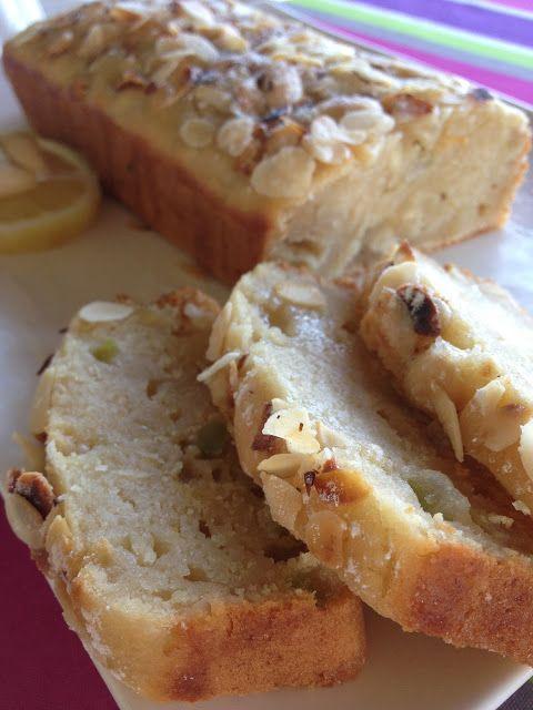 Cake végétal délicieux aux amandes et au citron (tofu soyeux)