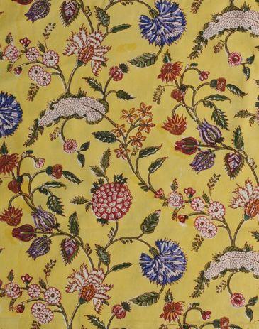 Anokhi USA: Saffron India cotton scarf