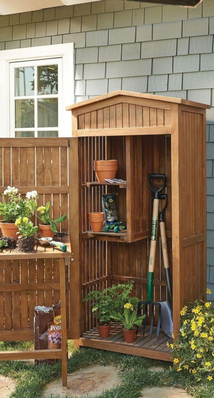 amazing 39 Unique Small Storage Shed Ideas for Your Own Garden #homegardentools