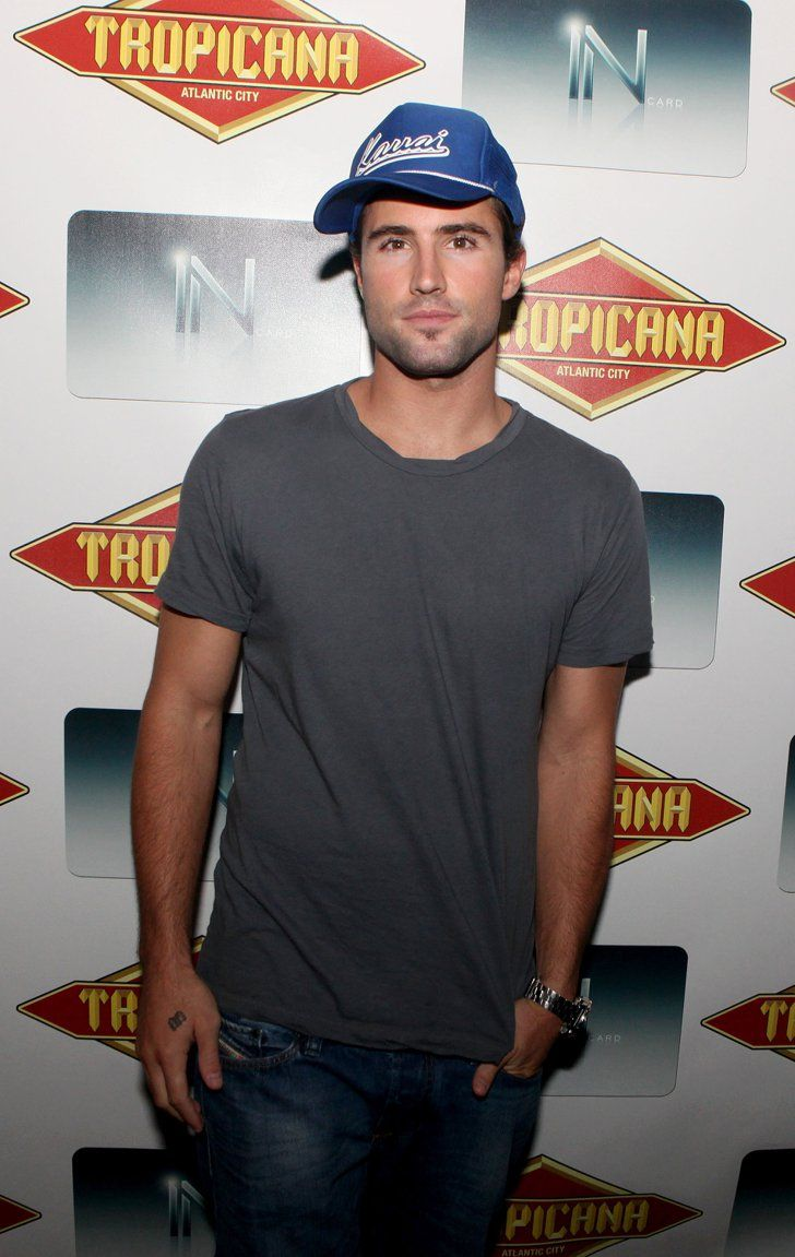 Pin for Later: 24 Times You Just Couldn't Help But Crush on Brody Jenner When He Sported His Signature Tilted-Hat Look