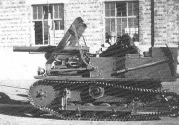 Vickers Carden-Loyd Mk.VI 47 mm FRC Tank Destroyer
