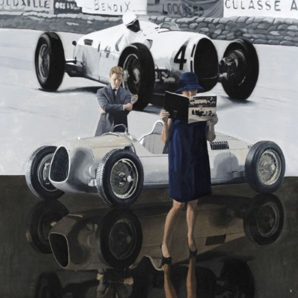 Iain Faulkner Final Viewing Signed Limited Edition Print | Scottish Contemporary Art