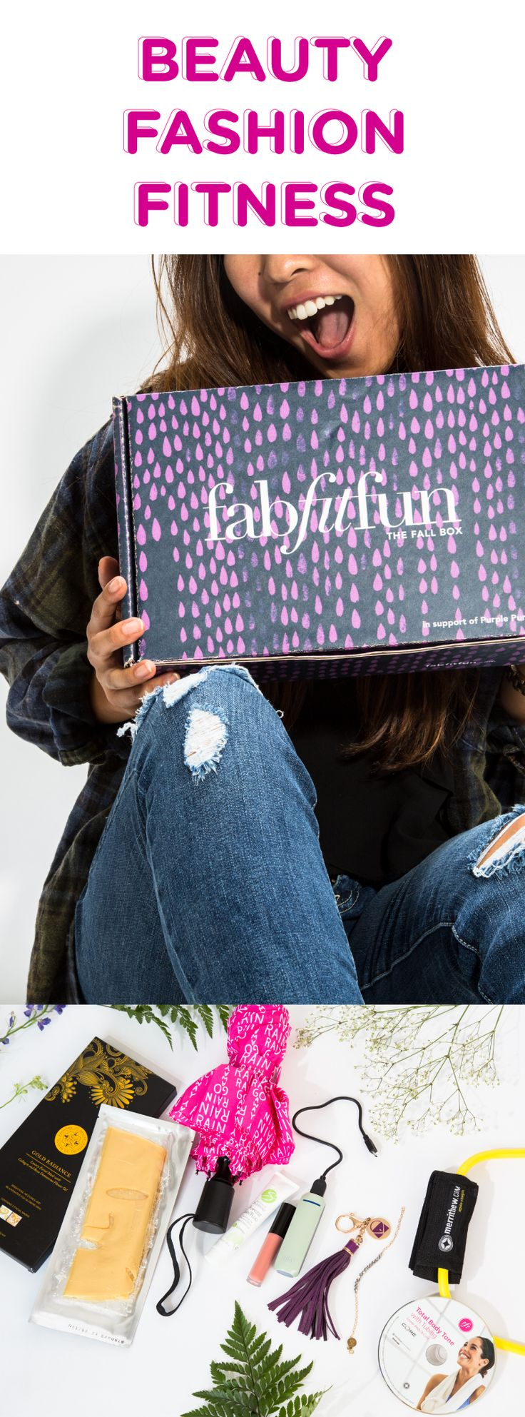 Get fab with FabFitFun! Each season we deliver a box of premium, full-size beauty, fashion, & fitness products to your door. Try us out and see why we're the #1 full-size box! Boxes ship free within the continental U.S.