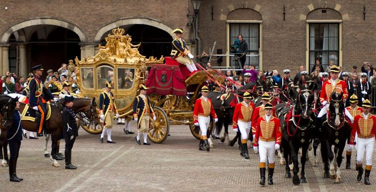 Prinsjes dag - this day the King/Queen annouces the new budget of the coming year.