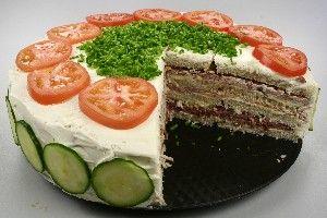 Smörgåstårta (Sandwichlagkage) 4