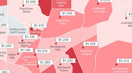 See The Cheapest And Most Expensive Atlanta Neighborhoods For Renters This Fall