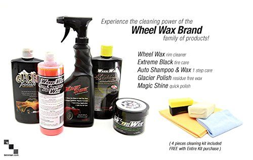 BMW brake pads: They let you stop on a dime but leave the brake dust behind!. Wheel Wax is specially...