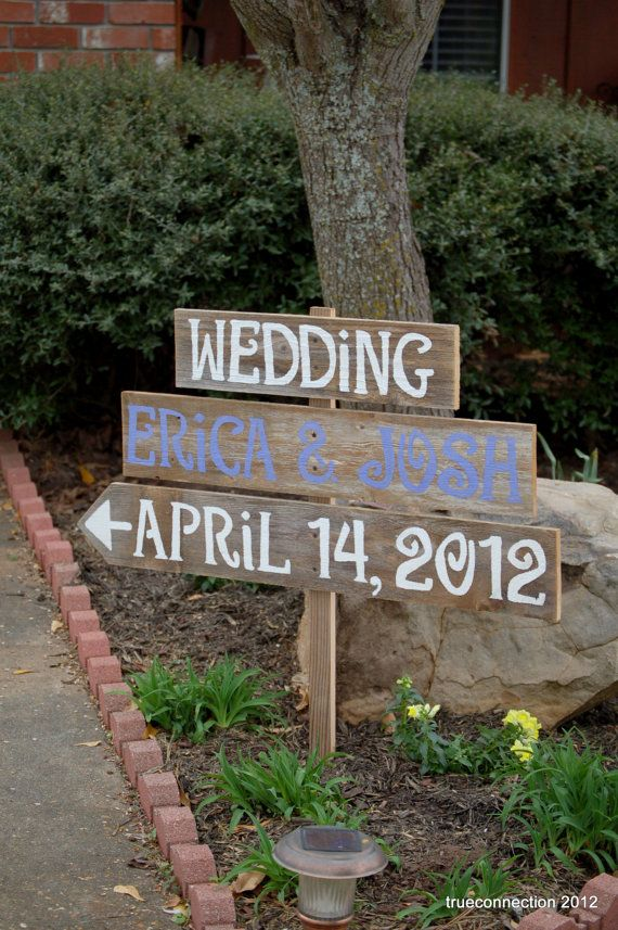Wedding Signs Spring Lavender Teal Grey You Pick by TRUECONNECTION, $90.00