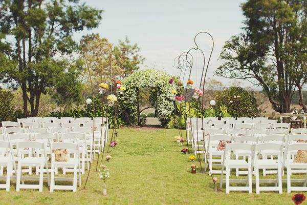 Romantic Garden Ceremony Setting - Spicers Hidden Vale QLD