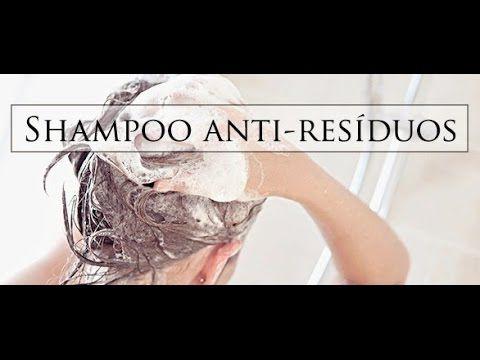shampoo  Caseiro Anti Residuo.