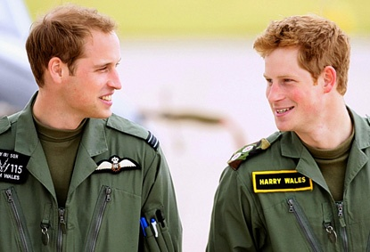 Brothers.. Prince William and Prince Harry