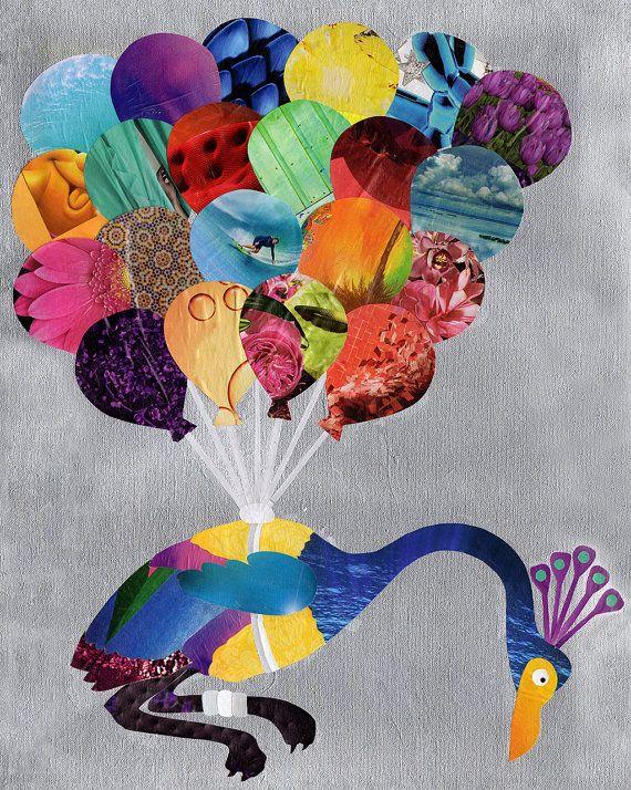 Up Movie art print Up wall art Birthday gift idea by ArtPopTart