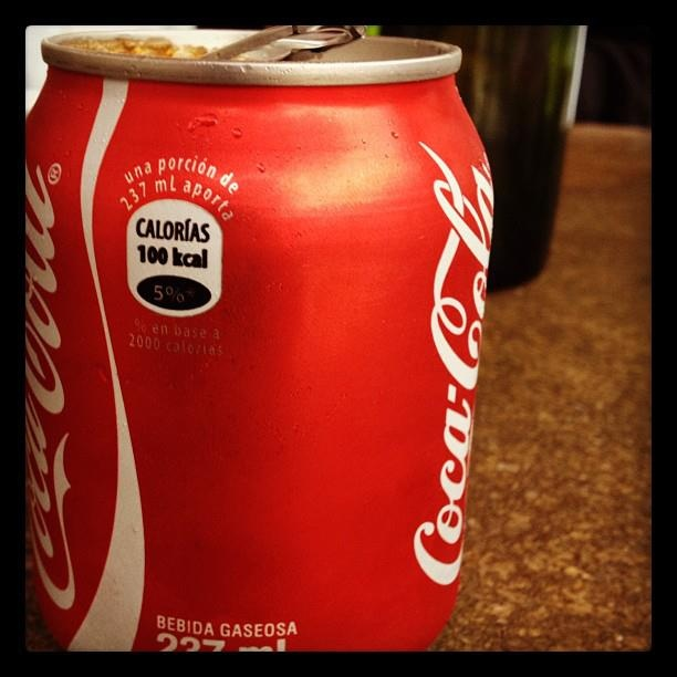 Coca Cola versión Botero