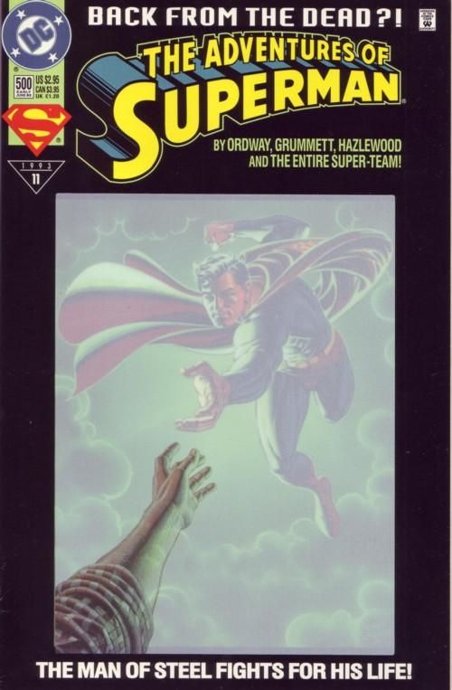 death of superman comic book series