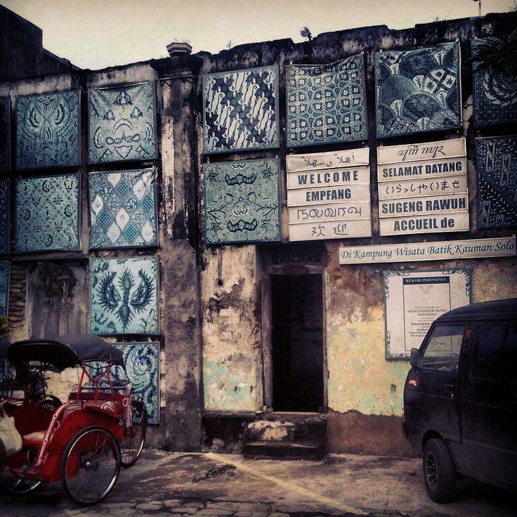 Kampung Batik - Solo, Indonesia