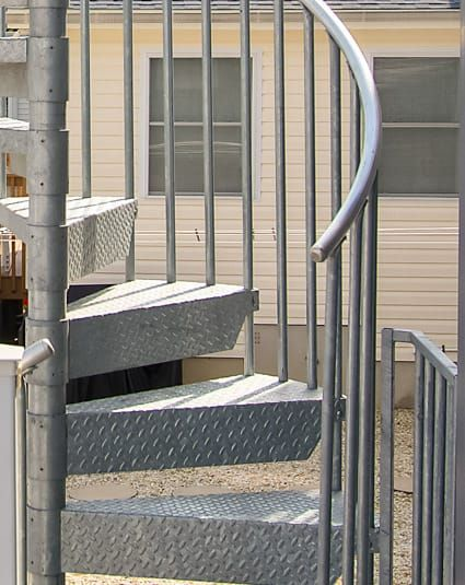 Best Economy Spiral Staircase Paragon Spiral Staircase 400 x 300