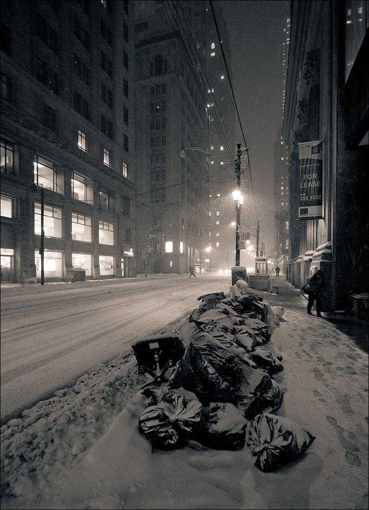 Toronto's King street at Yonge.