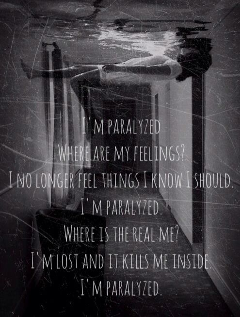 Paralyzed - NF My favorite song