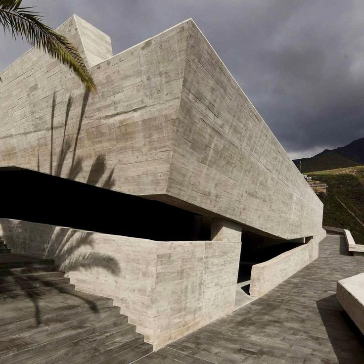 Our #ProjectOfTheDay is the Sacred Museum and Plaza España in Adeje, Spain/ Designed by Menis Architects, the cultural landmark is located on the edge of the Barranco del Infierno ravine/ One side of the project is the museum, and the other side is the widened Plaza Espanña/ Discover the full project on Architizer.com . . . . . . . . . #Architizer #architecture #AdejeSpain #Adeje #Spain #SacredMuseum #PlazaEspana #MenisArchitects #museum