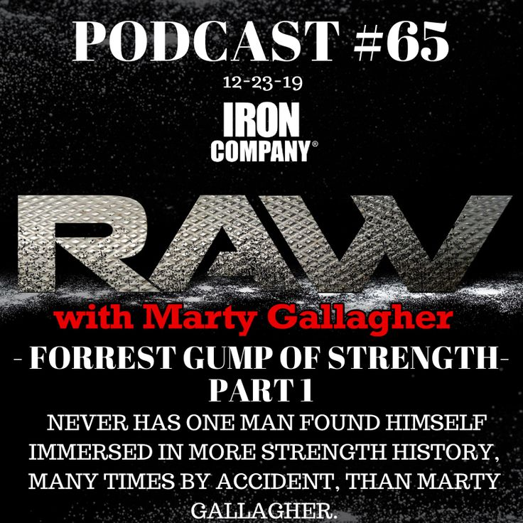 Raw with Marty Gallagher 65 in 2020 Podcasts, Mind gym