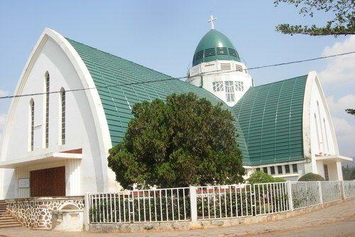 Cathédrale Notre Dame de la Paix de Bukavu-RDC