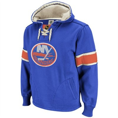 New York Islanders - oh hello, vintage I like this sweater but it doesn't have a penguin on it :( K~