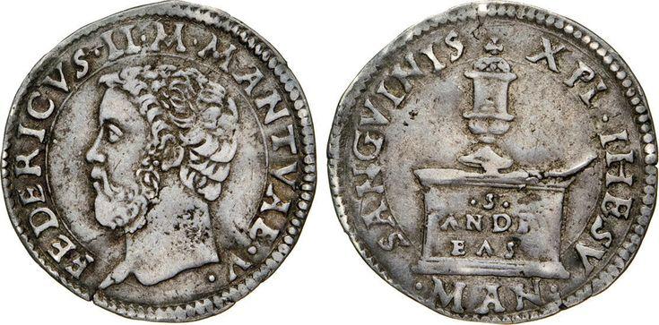NumisBids: Numismatica Varesi s.a.s. Auction 65, Lot 409 : MANTOVA - FEDERICO II GONZAGA (1519-1540) Mezzo Testone. D/ Testa...