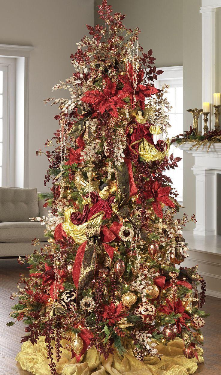 73 Best Christmas In BURGUNDY! Images On Pinterest ...