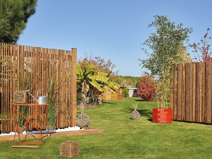les 67 meilleures images du tableau panneaux bois sur pinterest panneau bois cloture bois et. Black Bedroom Furniture Sets. Home Design Ideas